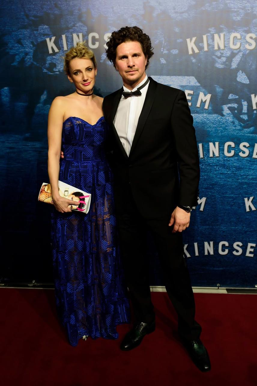 Nagy Ervin és Borbély Alexandra a Kincsem című film díszbemutatóján.