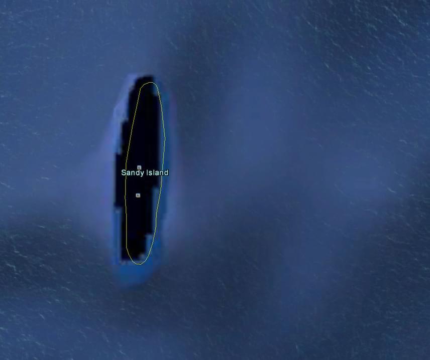 Akad olyan térség, ami még a kutatók számára is komoly fejtörést okozott. A Csendes-óceáni Sandy Island például rejtélyesen megjelent a térképen, ám amikor meg akarták látogatni, hűlt helyét találták. A vízmélység miatt azt is kizárták, hogy egy vihar következtében a sziget a víz alá került volna. Később derült ki, hogy azáramlatoknak köszönhetően alkalomadtán ide sodródnak össze az óceáni vulkánkitörésekben keletkező habkövek, ezt pedig a történelemben már többször szigetnek hitték.