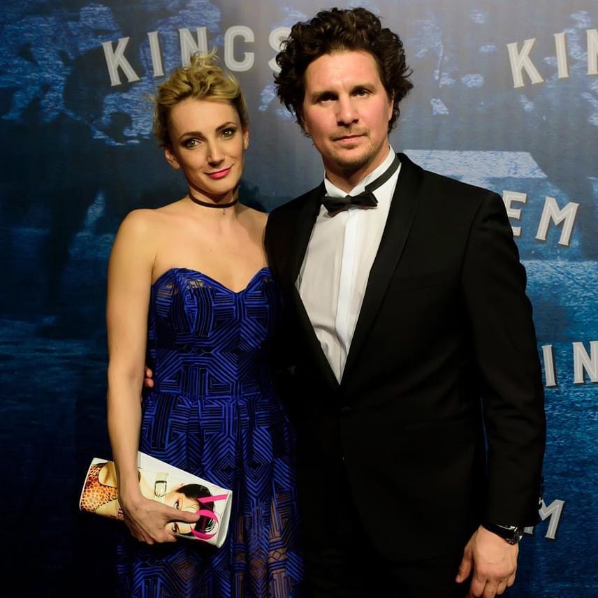 A film főszereplője, Nagy Ervin párjával, Borbély Alexandra színésznővel lépett a vörös szőnyegre.