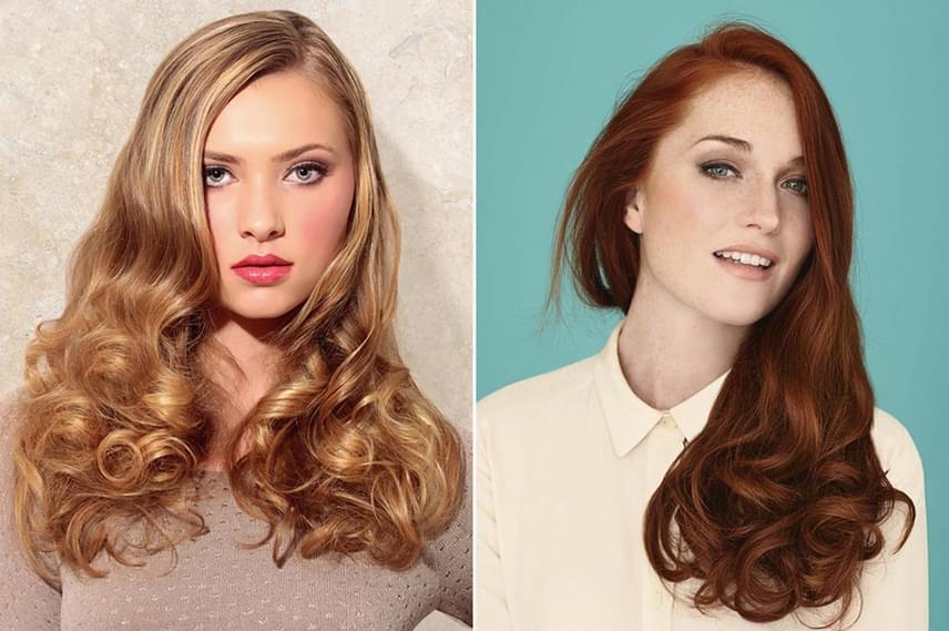 A hosszú hajat többféleképpen beloknizhatod  az áll alatti hullámok képesek  irányítani a tekintetet 84ef0a1bab