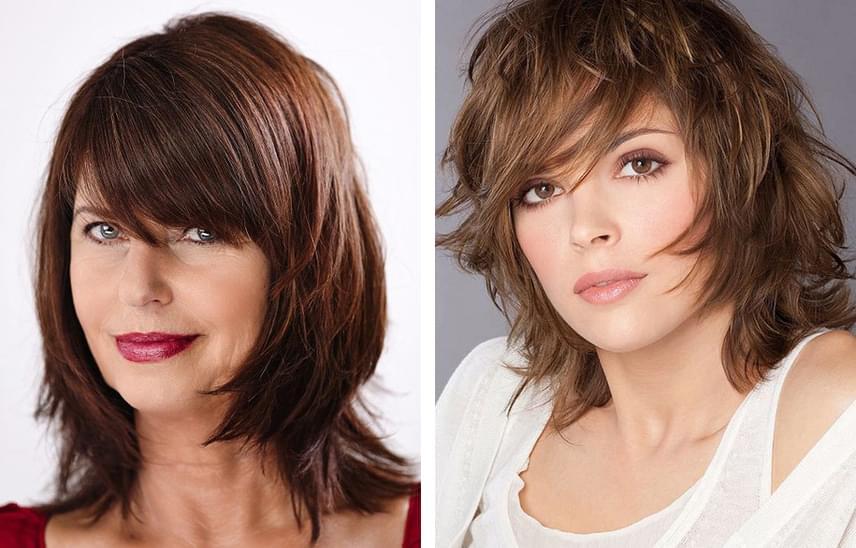 Kerek arcú nőknek ezek a frizurák állnak a legjobban - Félhosszú és ... 6259761b93