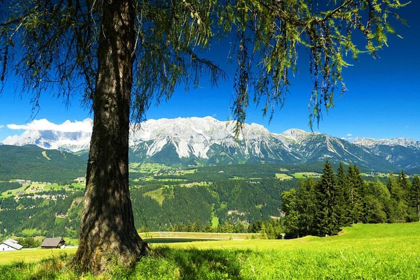 Ausztriában, Salzburgtól nem messze, 2700 méter magasan található az egész évben fagyos Dachstein-gleccser. Télen népszerű sípályákkal, nyáron felvonóval megközelíthető, és fantasztikus kilátással vár.