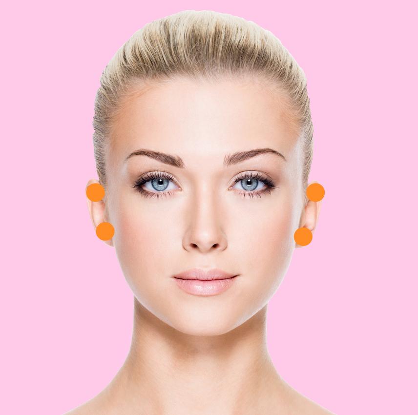 A fülek a vese állapotát mutatják meg, ezért az itt megjelenő pattanások hátterében a vizeletkiválasztás problémái vagy a vesék túlterhelése is állhat.