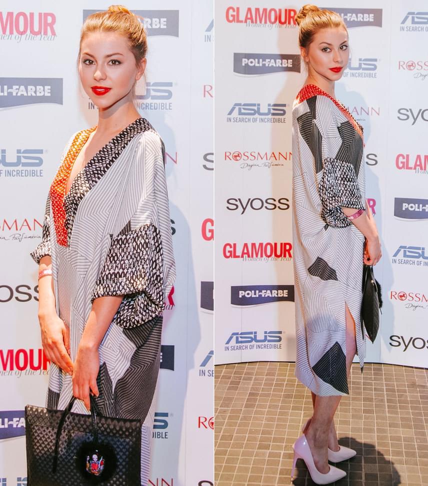Döbrösi Laura  A fiatal színésznő az Artista egy kényelmes, lenge darabjában jelent meg a 2017-es Glamour-gálán.