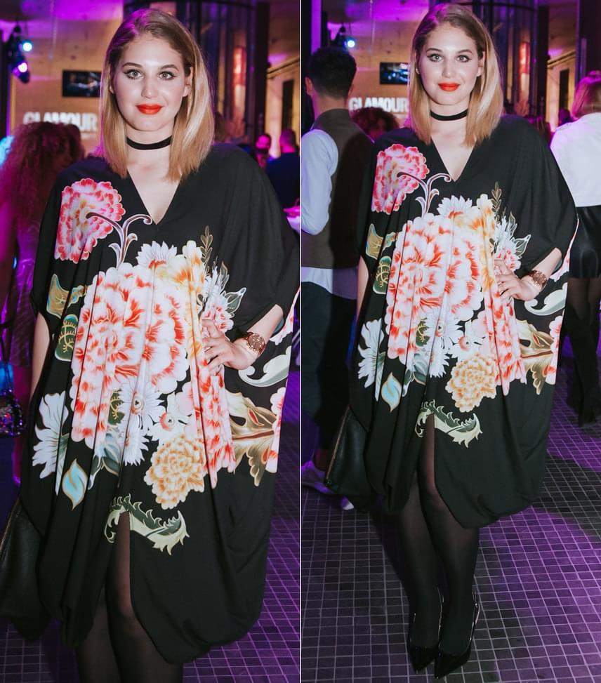 Nyári Dia  A Barátok közt színésznője ruháját a Sugarbird kollekciójából választotta.