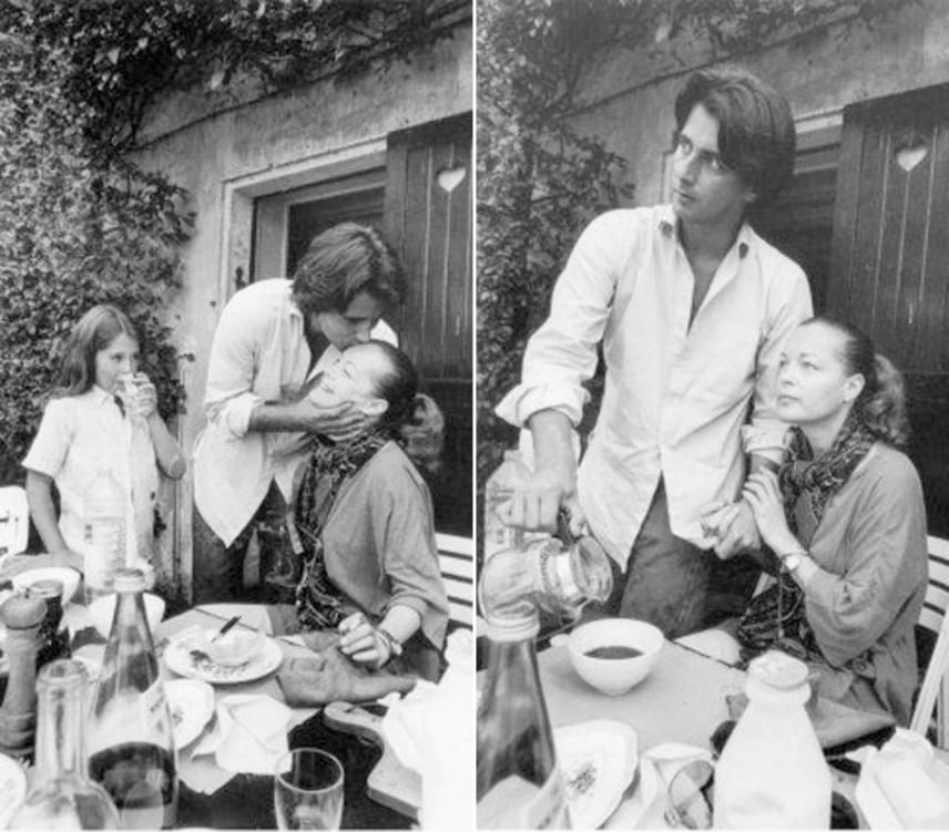 Romy Schneider fia, David Christopher 1981-ben vesztette életét egy balesetben, mindössze 14 éves volt. A színésznő beleroppant a tragédiába, és az alkoholhoz fordult, második férje, Harry Meyen halála után pedig gyógyszereket is szedett. Laurent Pétin próbált segíteni depressziós szerelmén, és kidobta a pirulákat, miután megtalálta őket.
