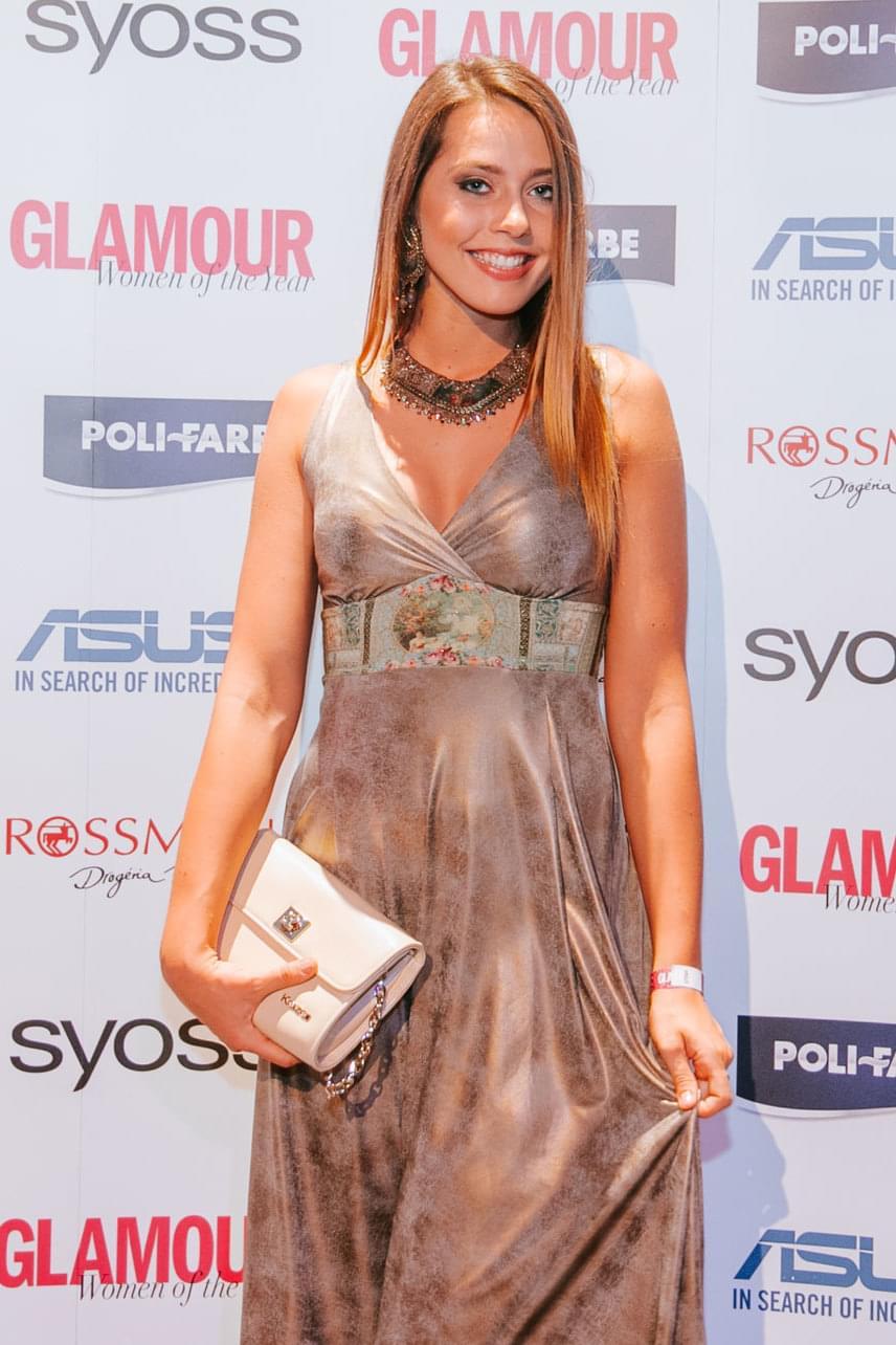 A 19 éves Rubint Rella jelöltként izgulhatott a kilencedik alkalommal megrendezett Glamour-gálán.