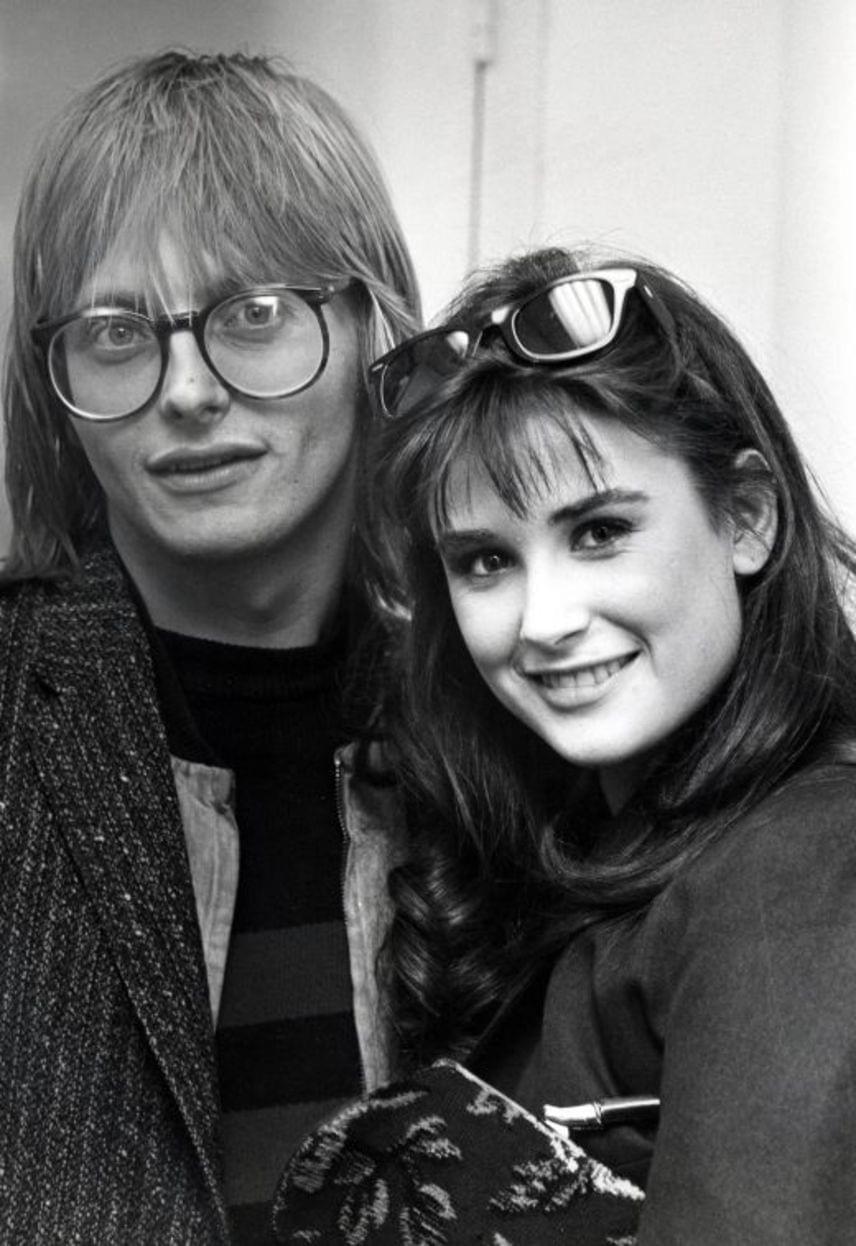 Freddy Moore 1979-ben ismerkedett meg egy nightlcubban az akkor mindössze 16 éves színésznővel, aki eredetileg Demi Gene Guynes néven látta meg a napvilágot.