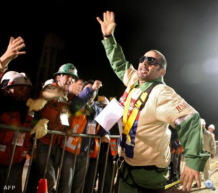 Mario Sepulveda, 40 éves, 60 perc alatt emelték ki