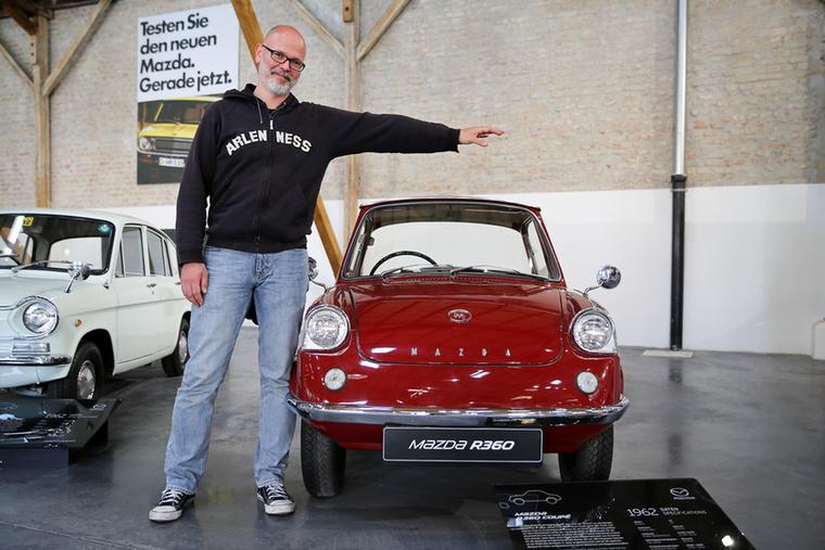 Azt mondják, az R360 coupé volt a Mazda első igazi személyautója, 1960 és 1966 közt gyártották