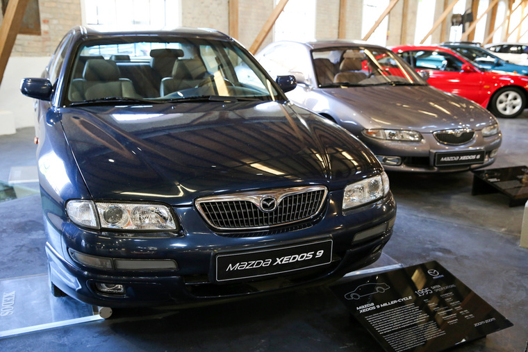 A Mazda Európában is próbált a prémium szegmensben sikereket elérni, de itt nem vezetett be új márkát, sem az Enfini, sem a Eunos nevet nem próbálták meg elfogadtatni