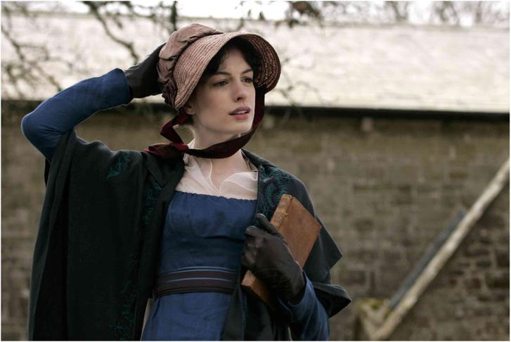 Anne Hathaway a Jane Austen magánélete című filmben