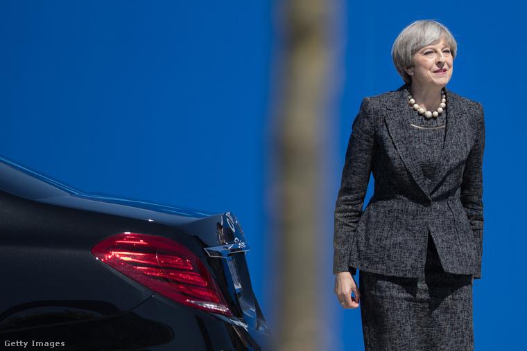 Ezek a képek is bizonyítják, hogy Nagy-Britannia második női miniszterelnökének sok mindenhez van arca.