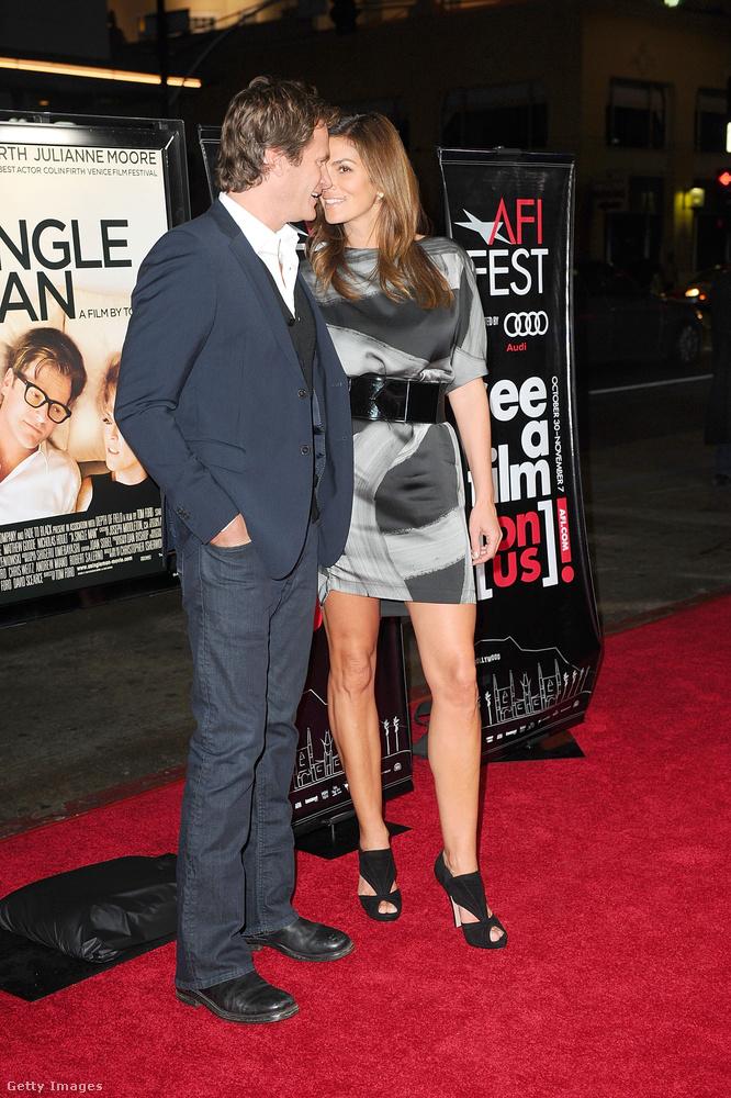 2009Az A Single Man (Egy egyedülálló férfi) című film bemutatóján is szerelmespárként viselkedtek.