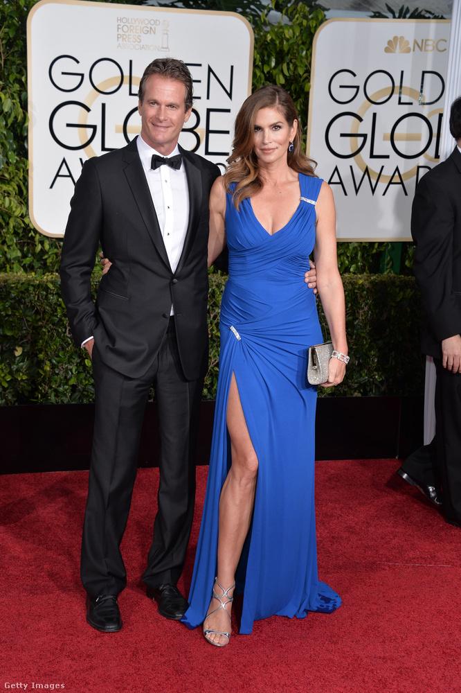 2015A Golden Globe-kiosztó legszebb párjai között volt a helyük.