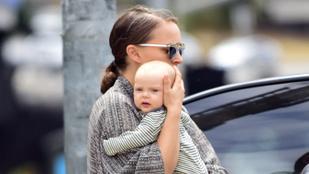Végre megnézheti Natalie Portman háromhónapos kislányát