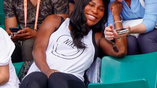 Ha minden igaz, Serena Williams lányt vár
