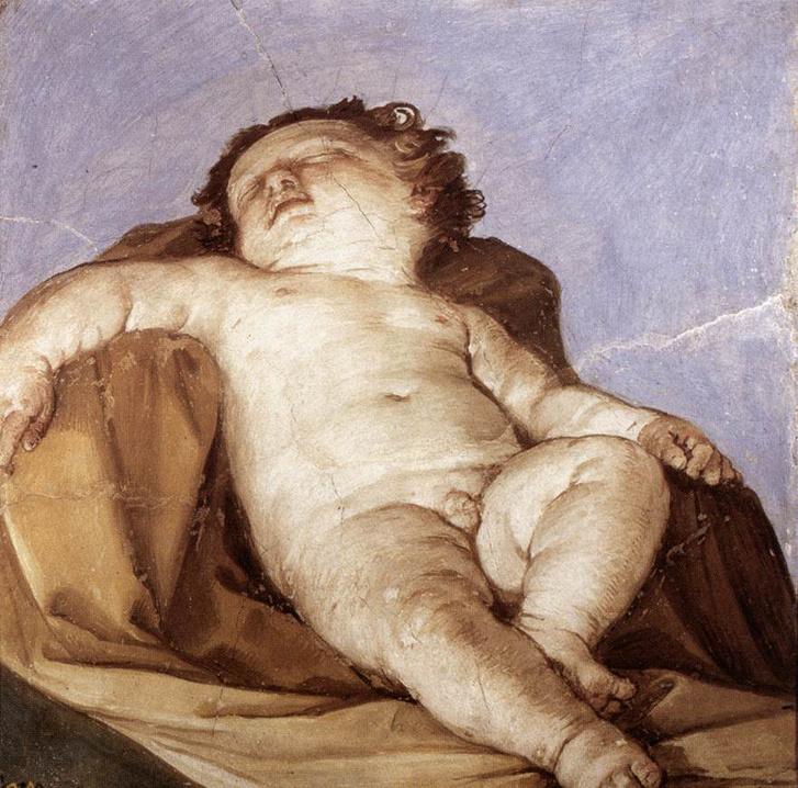 Guido Reni: Alvó Putto, 1627
