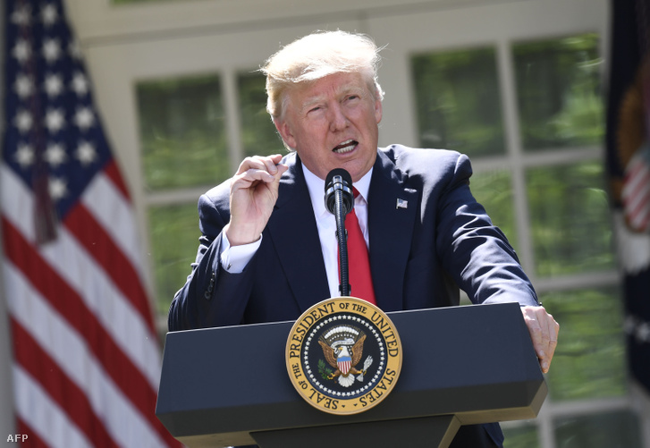 Donald Trump bejelenti Amerika kilépését a párizsi klímaegyezményből