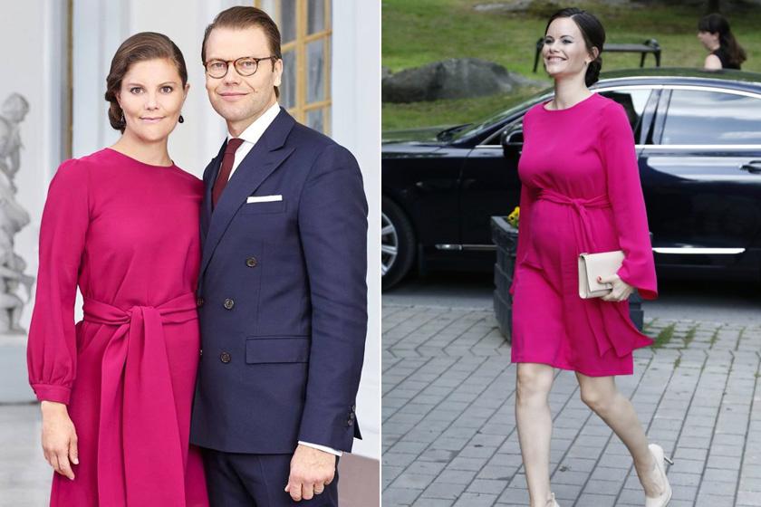 Vajon Sofia hercegné kölcsönkérte sógornője, Viktória hercegnő ruháját, vagy csak véletlenül vásárolt éppen ugyanilyet?