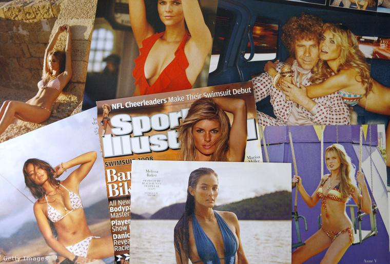 Nem mellékesen a Sports Illustrated fürdőruhás kiadásába is bekerült.