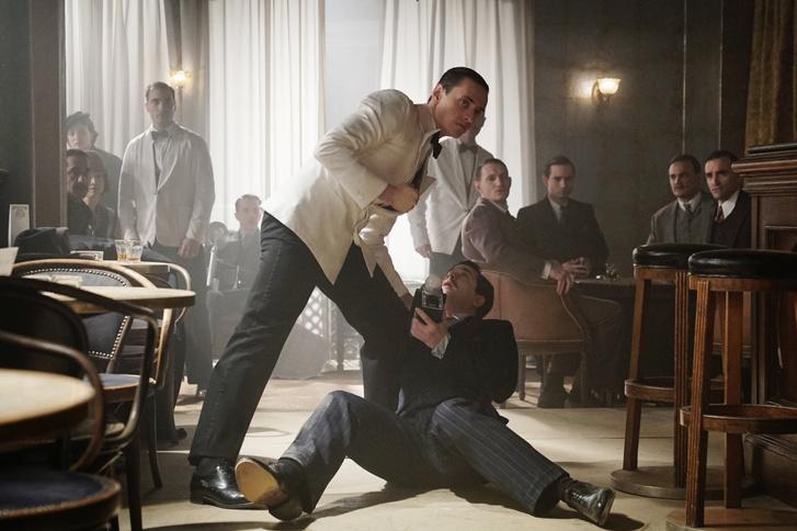 Szergej Polunin a Gyilkosság az Orient Expresszen című filmben