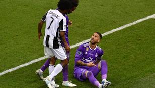 Ramos színészkedését mindenki megette