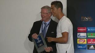 C. Ronaldo találkozása a főnökkel