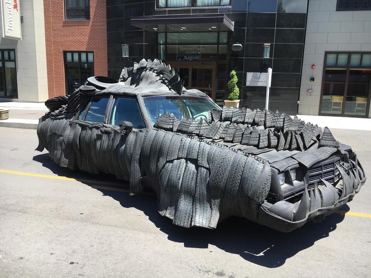 Rubber-Car