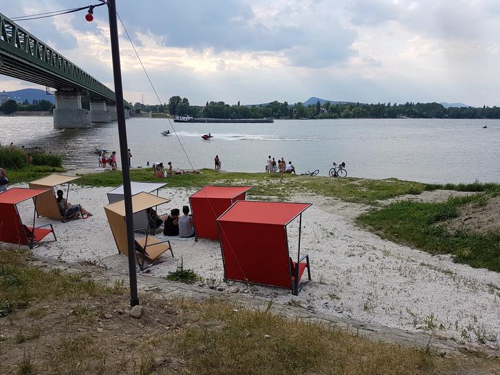 Kabin Újpest Duna-part