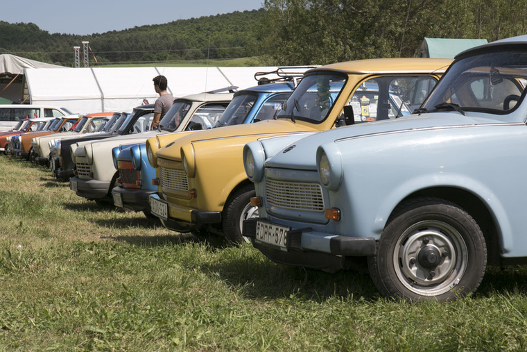 ...az Észak-magyarországi Trabant Club Egyesület nemzetközi találkozóján