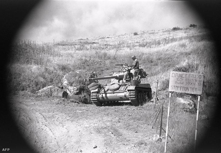 Az izraeli hadsereg a Golán-fennsíkon