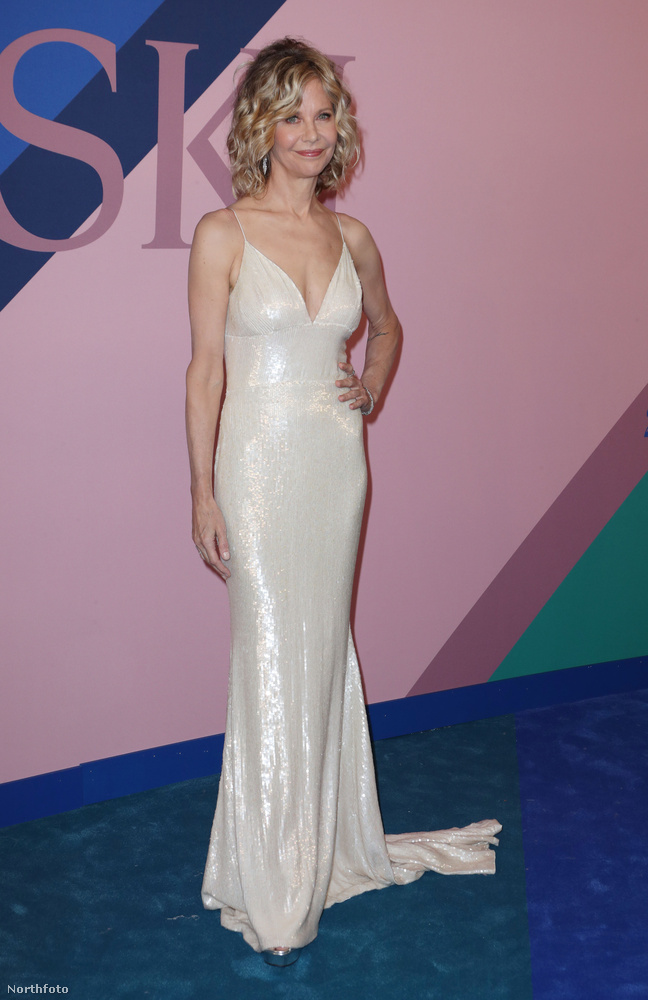 Meg Ryan a New York-ban tartott CFDA Fashion Awards-on járt június 5-én