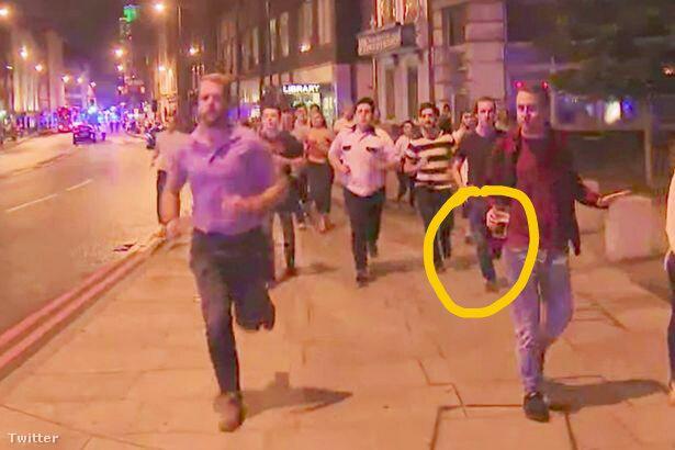 A férfi a londoniak szellemiségének szimbólumává vált