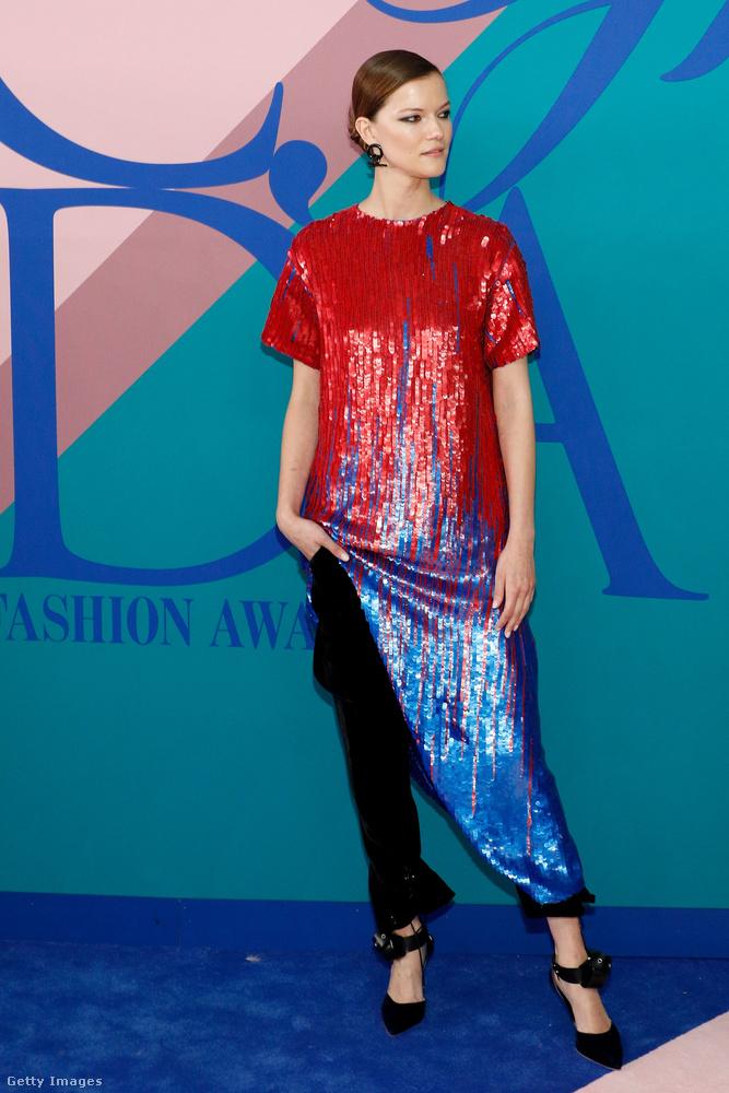 Kasia Struss egy lengyel modell