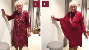 A netezők döntik el, melyik ruhájában menjen férjhez egy 93 éves menyasszony