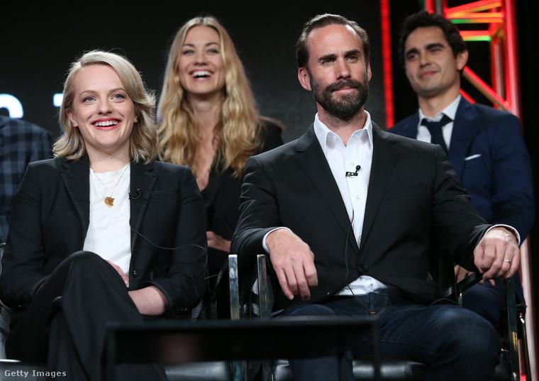 És ne felejtsük el, hogy idén kezdte el vetíteni az HBO A szolgálólány meséje (The Handmaid's Tale) című sorozatot, amelynek főszerepéért jövőre már egy-két díjat biztosan bezsebel Elisabeth Moss