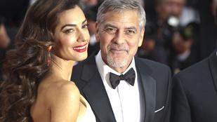 Édesapja orrát örökölte George Clooney kisfia
