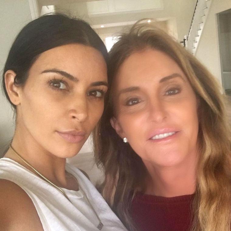 Kim Kardashian és Caitlyn Jenner