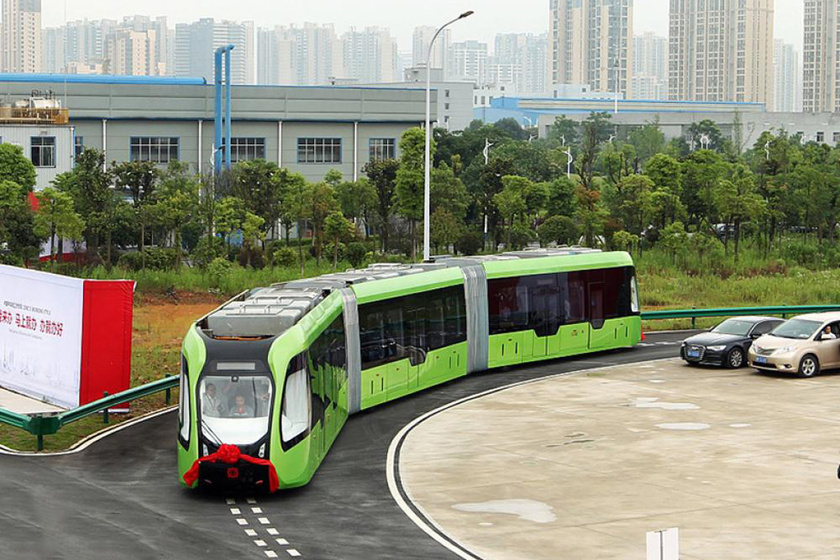 2018-ban forgalomba állítják a vezető nélküli okosbuszt a kínai Zhuzhou városában.