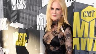 Nicole Kidman szokatlanul merész volt, magához képest