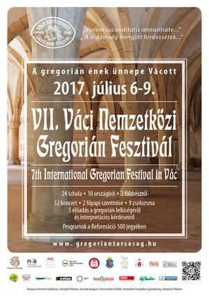 VII.Váci Nemzetközi Gregorián Fesztivál