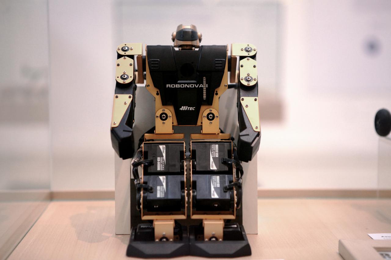 16 szervomotor működtette a szingapúri Hitec-Multiplex konszern Robonova 1 robotját, amit a hátába épített mikroszámítógép vezérelt. A 2006-ban piacra dobott szerkezet fejlesztésében 2001-től 2005-ig Juhos Sándor is részt vett. 2009-ben Juhos Sándor és a Neumann János Számítógép-tudományi Társaság Robotika Szakosztályának csapata RoboCup világbajnok lett a robottal.