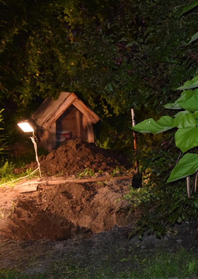 Ide ásta el a 25 éves férfi az apját.