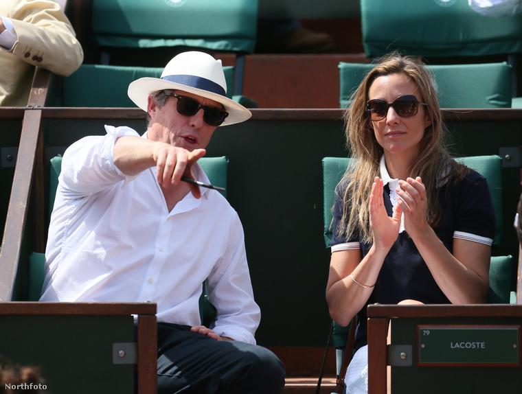 Hugh Grant csak nagyon kivételes esetekben szokott együtt mutatkozni nyilvánosan a barátnőjével, Anna Ebersteinnel