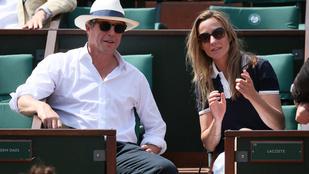 Nahát, Hugh Grant együtt mutatkozott a párjával