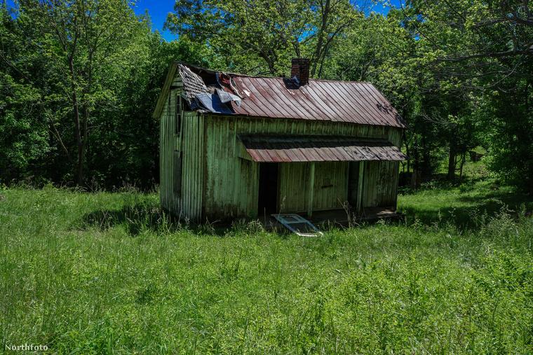 Ez az a ház, itt lakott Everdeen, mielőtt minden megváltozott.