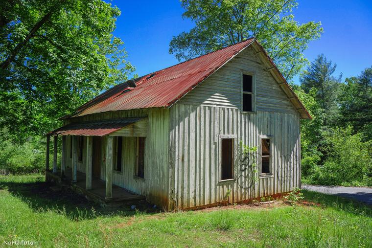 A helyszín Ashville, Észak-Carolina államban