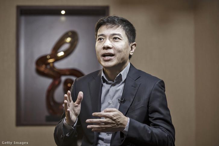 Robin Li, a Baidu milliárdos vezérigazgatója