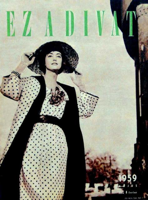Keresztes Orsi 1959-ben szerepelt először az Ez a divat című magazin címlapján.